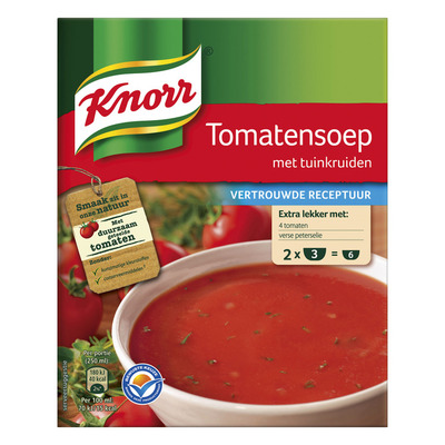 Knorr Mix tomatensoep