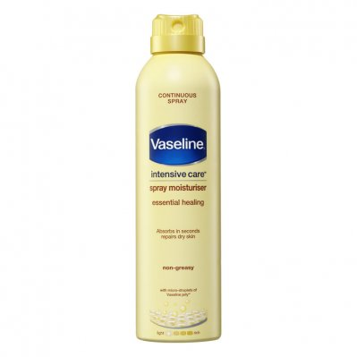 Vaseline Bodylotion spray essential