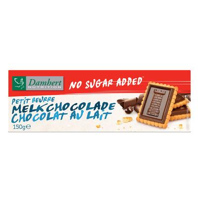 Damhert Petit beurre melkchocolade suikervrij