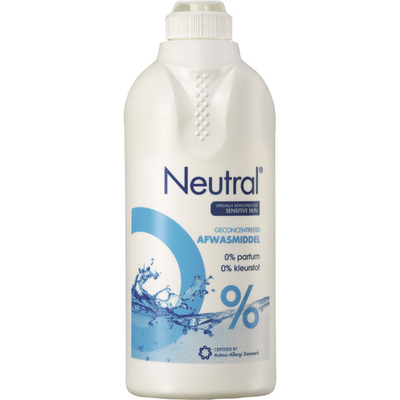 Neutral Afwasmiddel parfumvrij