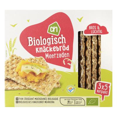 Huismerk Biologisch Knäckebröd meerzaden
