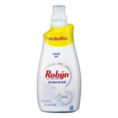 Robijn Klein & krachtig stralend wit wasmiddel