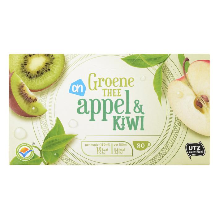 Huismerk Groene thee appel & kiwi