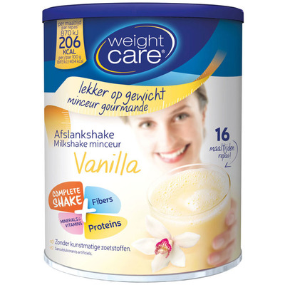 Weight Care Afslankshake vanilla