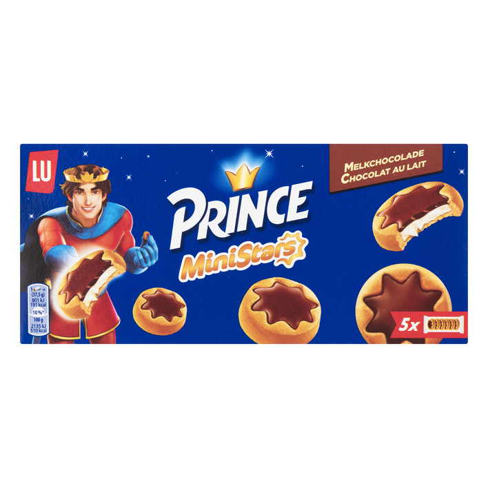 Prince Biscuits ministars chocolade