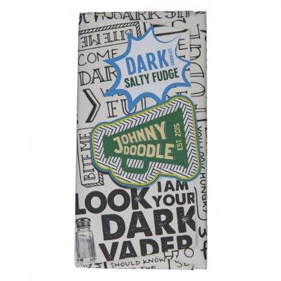 Johnny Doodle Dark chocolate salty fudge
