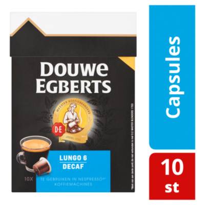 Douwe Egberts Lungo Decaf koffiecapsules