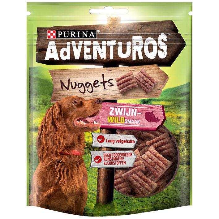 Adventuros Nuggets met zwijnwildsmaak