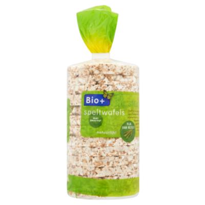 Bio+ Speltwafels met zeezout