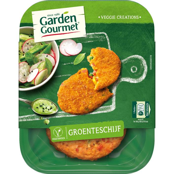 Garden Gourmet Vegetarische groenteschijf