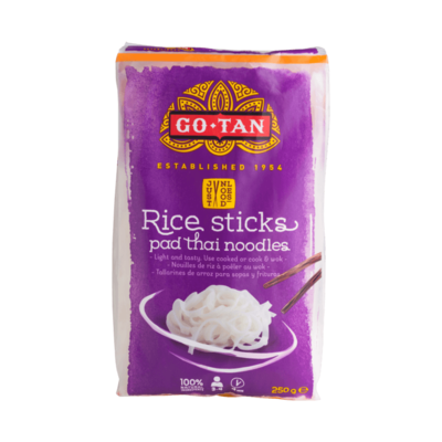 Go-Tan Rice Sticks Pad Thai Noodles