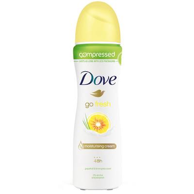 Dove Deodorant spray go fresh grapefruit
