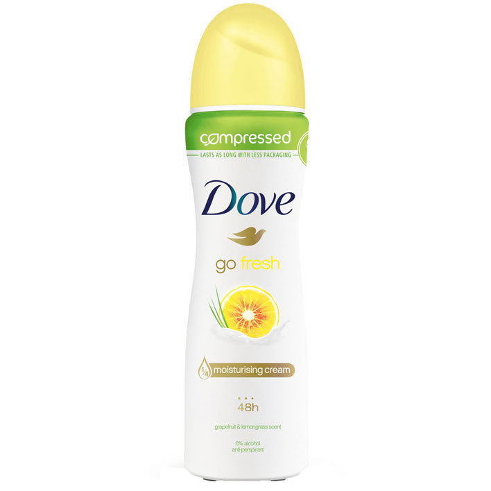Dove Deodorant spray go fresh grapefruit