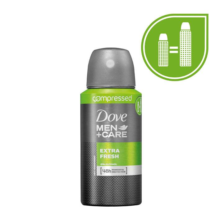 Dove Deodorant spray men + care extra fresh