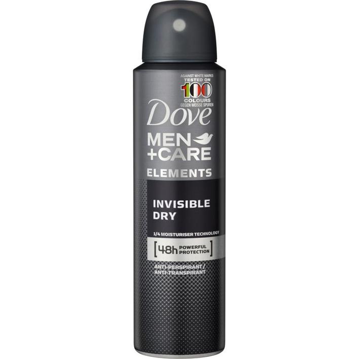 Dove Deodorant spray men + care invisible dry