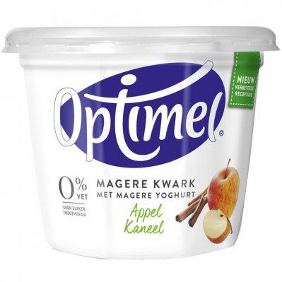 Optimel Magere kwark appel kaneel 0% vet