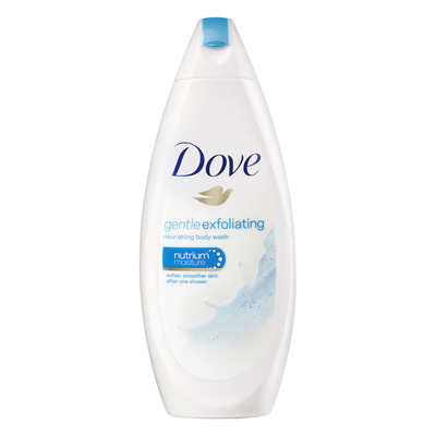 Dove Douchecrème gentle exfoliating