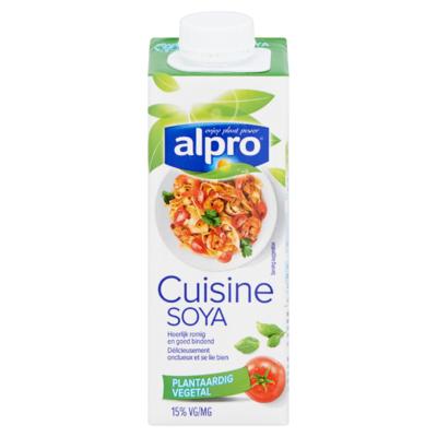 Alpro Cuisine Plantaardige Variatie op Kookroom 250 ml