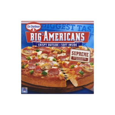 Dr. Oetker Big Americans pizza supreme