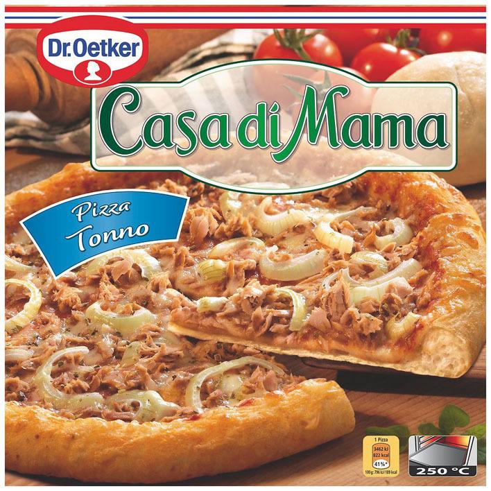Dr. Oetker Casa di Mama pizza tonno