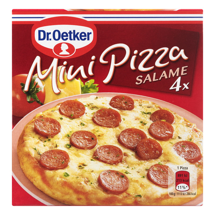 Dr. Oetker Mini pizza salame