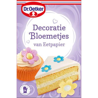 Dr. Oetker Decoratiebloemetjes van eetpapier