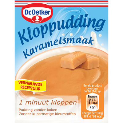 Dr. Oetker Kloppudding karamel
