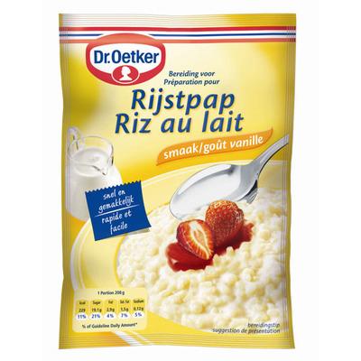 Dr. Oetker Rijstpap vanille