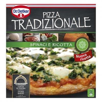 Dr. Oetker Pizza tradizionale spinaci e ricotta