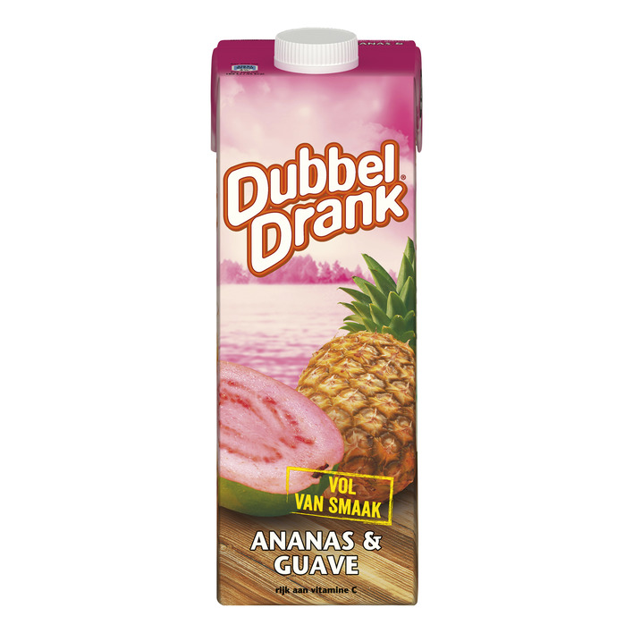 Dubbeldrank Ananas-guave