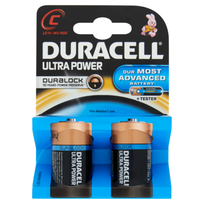 Duracell Batterij Ultra Power C