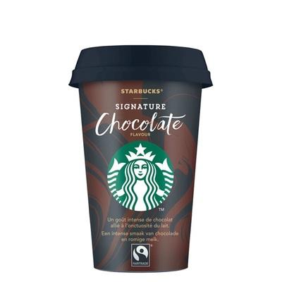 Starbucks chilled classics signature chocolate