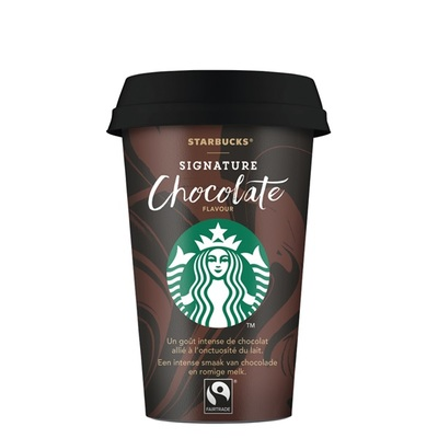 Starbucks chilled classics signature chocolate