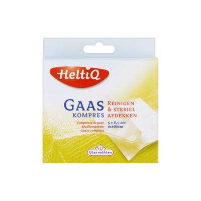 HeltiQ Gaaskompres Medium