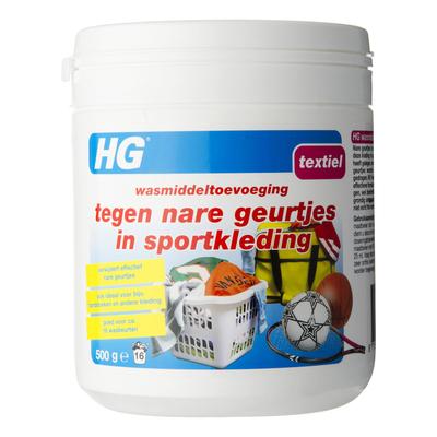 HG Wasm.tegen nare geurtjes in sportkleding