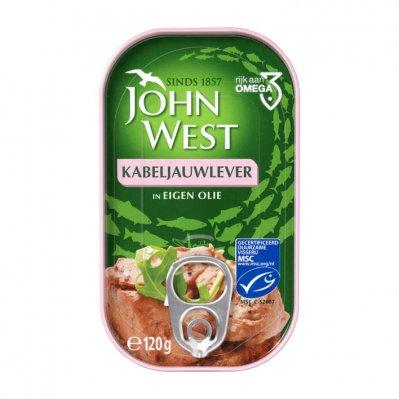 John West Kabeljauwlever in eigen olie MSC