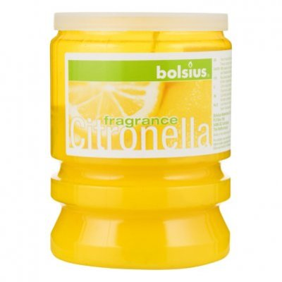 Bolsius Partylight citronella geel