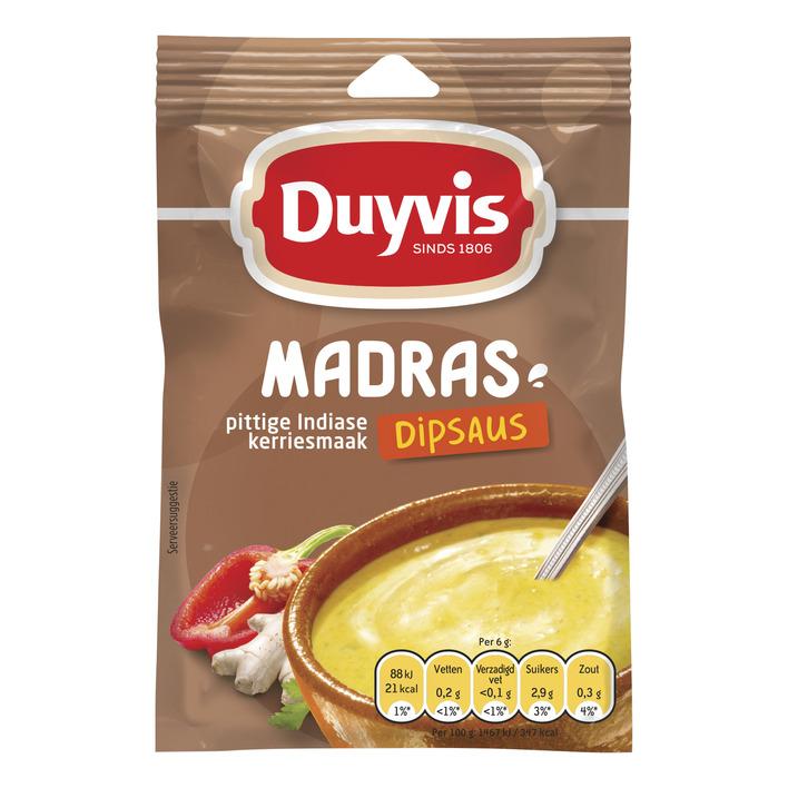 Duyvis Tafelsaus mix Madras