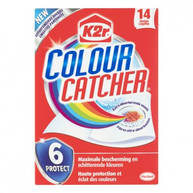 K2R Colour catcher anti kleurdoorloopdoekjes