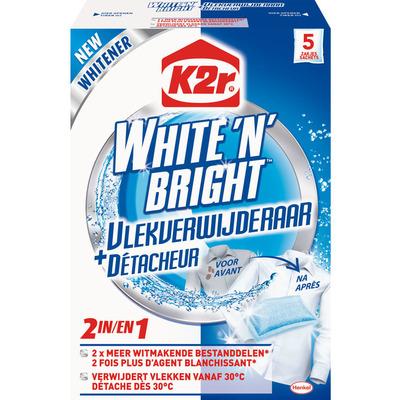 K2R White 'n bright vlekverwijderaar doekjes