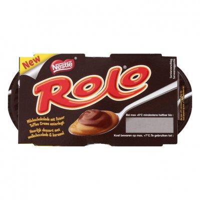 Rolo Chocolade & karamel dessert