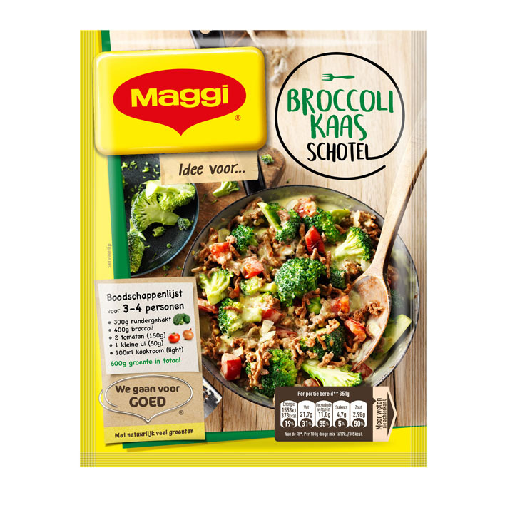 Maggi Dagschotel broccoli-kaas