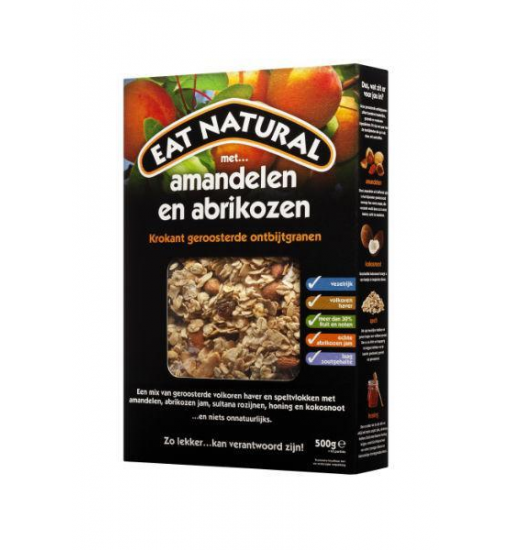 Eat Natural Ontbijtgranen amandel en abrikoos