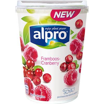 Alpro Plantaardig framboos cranberry