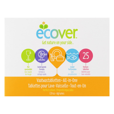 Ecover Vaatwastabletten all-in-one citrus