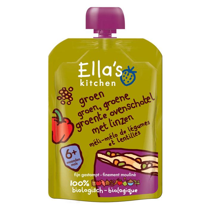 Ella's Kitchen Groente ovenschotel met linzen 6+ mnd