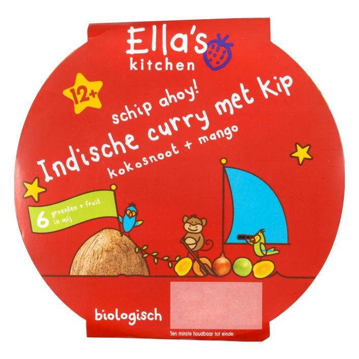 Ella's Kitchen Indische curry met kip 12+ mnd