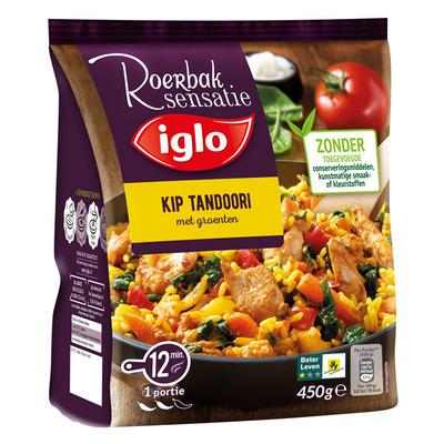 Iglo  Roerbaksensatie kip tandoori