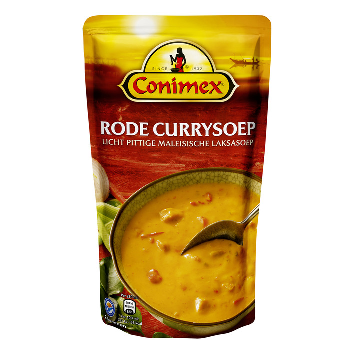 Conimex Soep rode curry