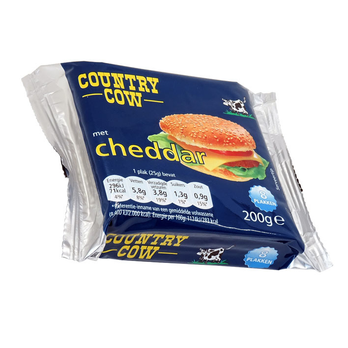 Country Cow Cheese slices